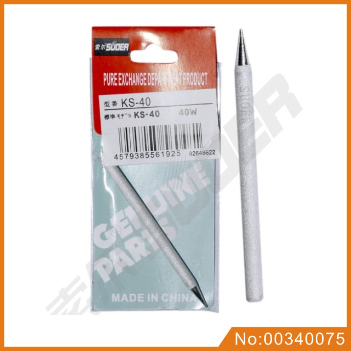 Suoer Great Quality 40W Soldering Iron Tip