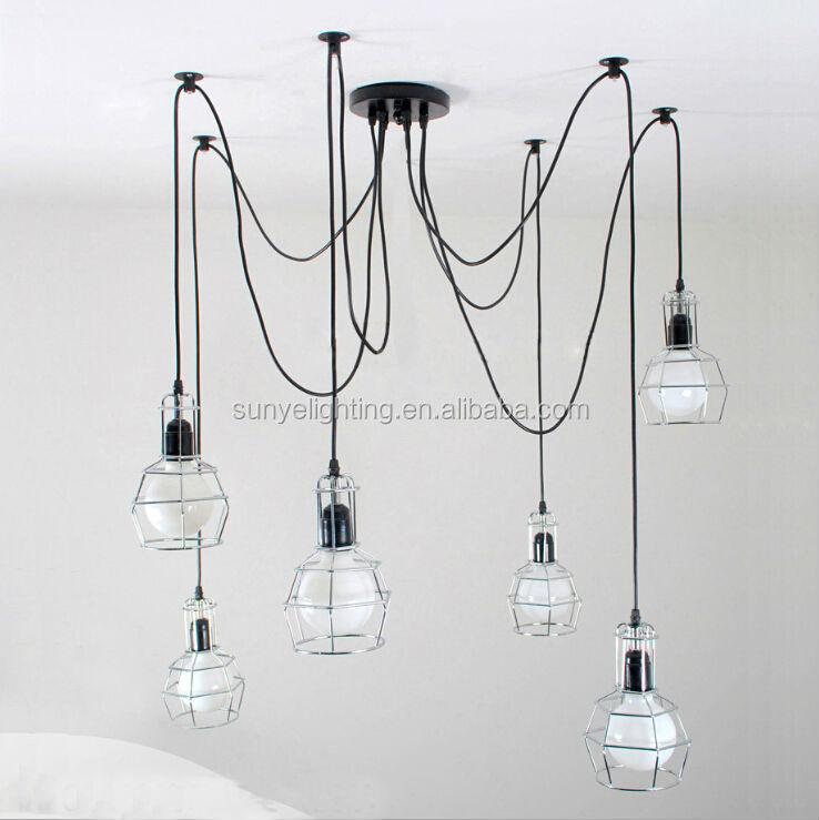 2014 new modern chandelier lighting fixture pendant lamp - Portalampada ikea ...