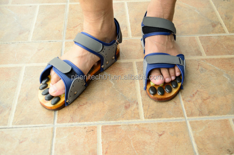 Most Popular Wholesale Stone Foot Massage Slipper / Sandal