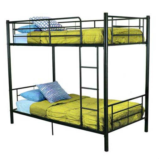 Metal Iron Bed Cheap Furniture Bedroom Double Deck Bed