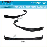 For 07-09 Mazda 3 5dr Ms Style Urethane Front Bumper Lip Spoiler ...
