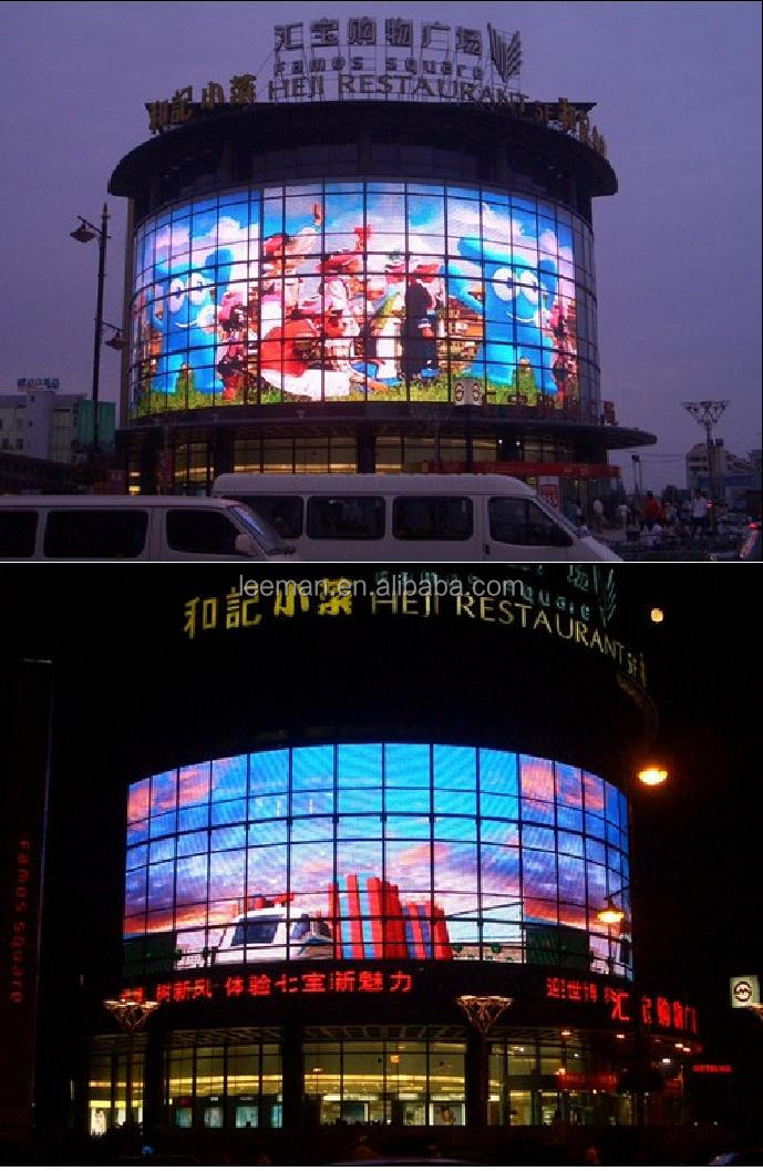 Transparent Oled Screen Led Moving Message Display Sign