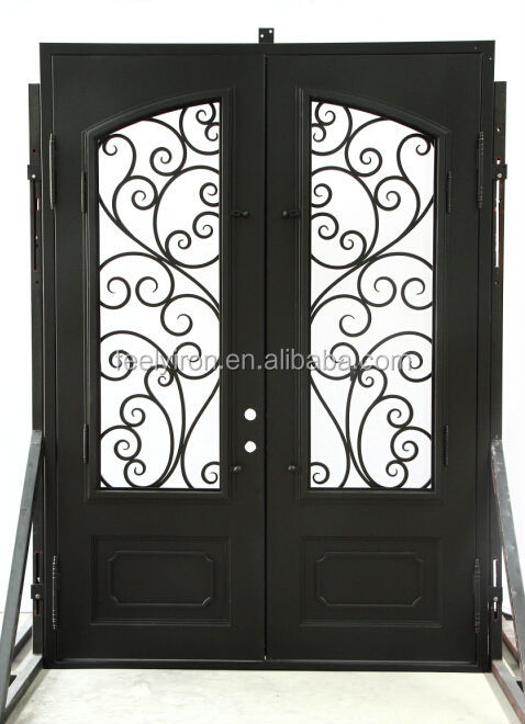 House Front Main Double Door Design FD-289, View House Front Main ...