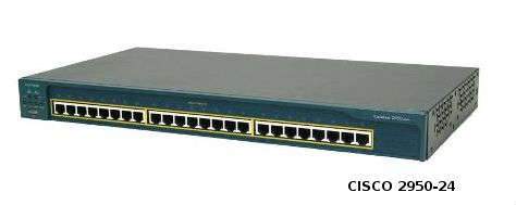 Cisco Catalyst 2950t-24 - Switch - 24 Ports - Managed - Rack ...