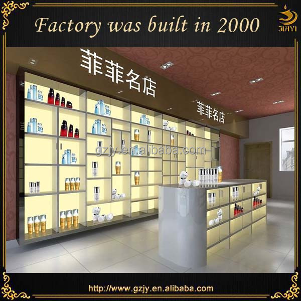 Customized Modern Cosmetic Shop Decoration Design Ideas