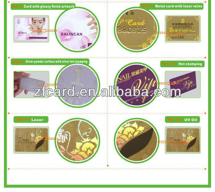 Full Color Printing Standard Credit Card Size Id Card