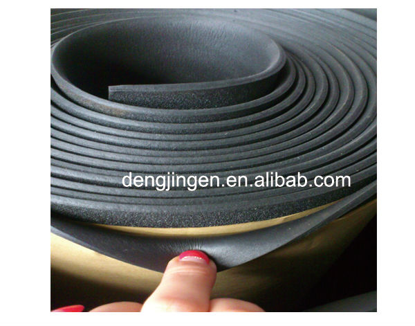 2014 High Density Nbr Foam Mat Black Nbr Pvc Foam Rubber
