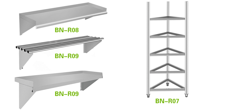 Stainless Steel Commercial Kitchen Storage Shelf - Buy Stainlee ...