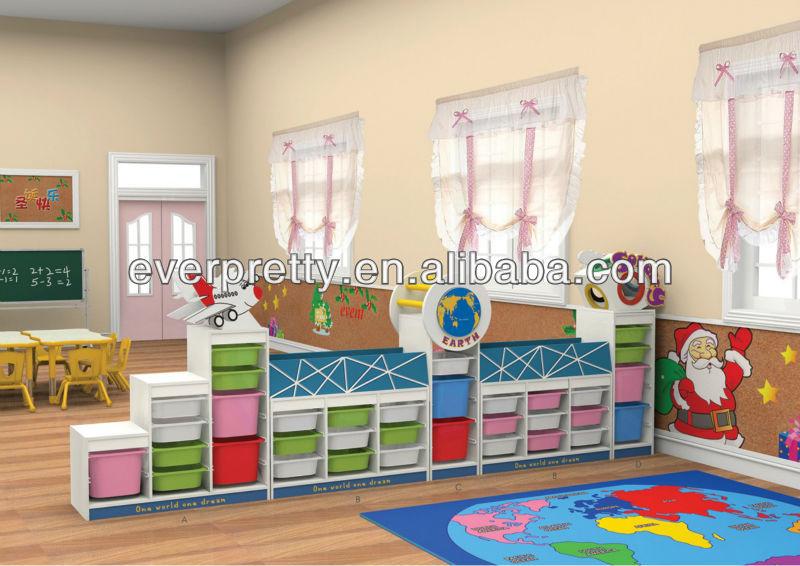 Guardería Kindergarten Madera Niños Escuela Infantil Muebles - Buy ...
