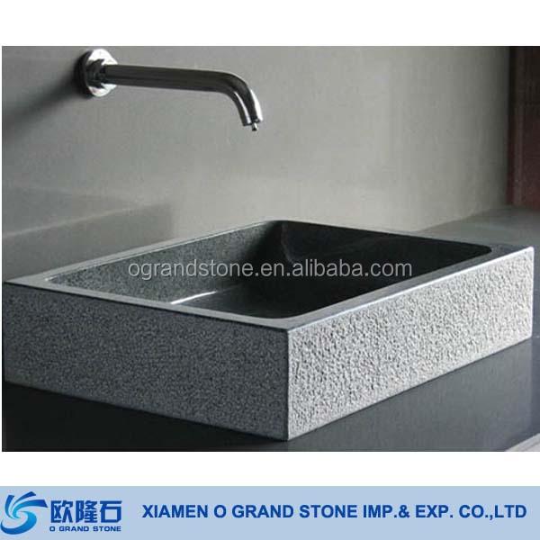 Bathroom Kitchen Wash Hand Basin Elegant Natural Stone