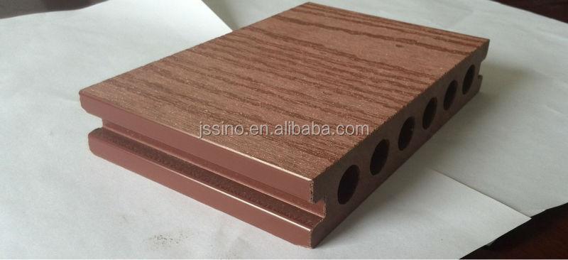 Dichte 1 35 Rundhohlprofilen Wpc Holzterrassen Composite Deckbrett