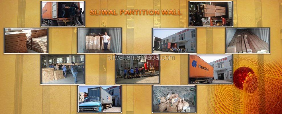 China Manufacturer Aluminium Temporary Wall For Classrooms