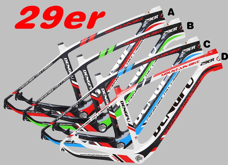 chrismas 29er mountain bike mtb frames chinese full carbon mtb frame fm056 - Mtb Frames