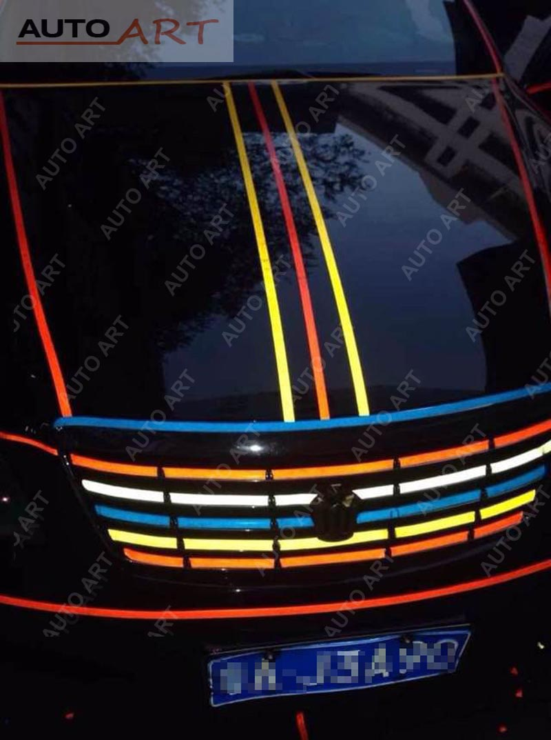 Reflective Strips Luminous Tape Decal Vinyl Film 3m Car