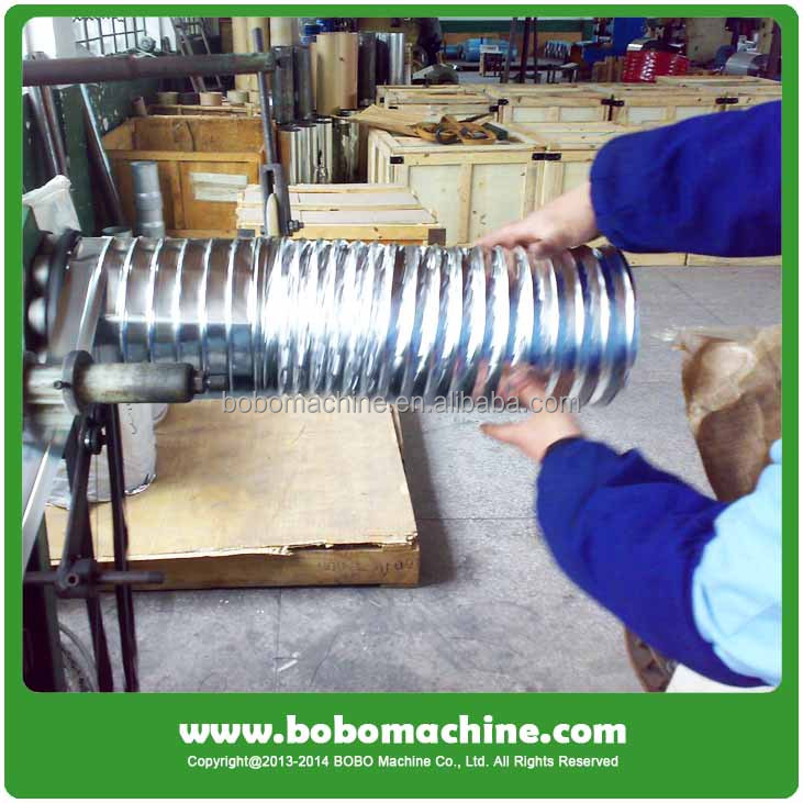 Insulated Aluminum Flexible Duct Machine, View Insulated