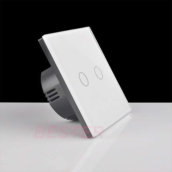2 gang wall touch light switchhome smart electric light switch 2 gang wall touch light switchhome smart electric light switchtouch screen wall mozeypictures Gallery