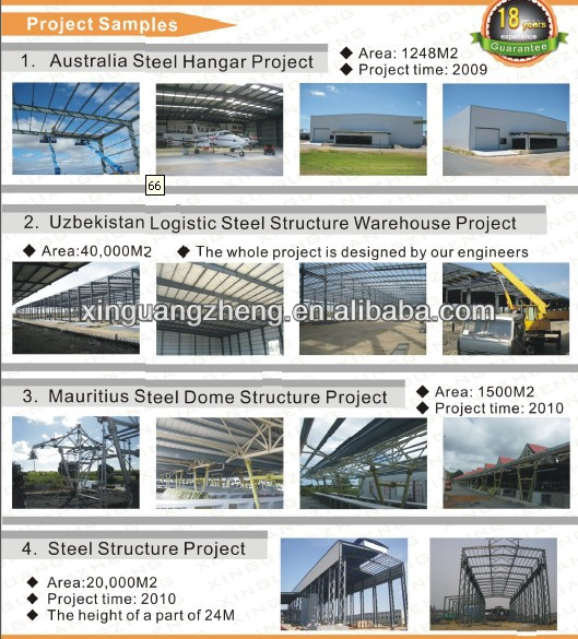 prefab steel structure fire eps sandwich panel warehouse
