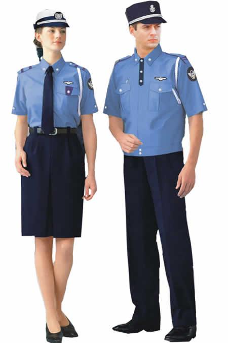 China Supplier Customize Men Guard Uniform Shirt