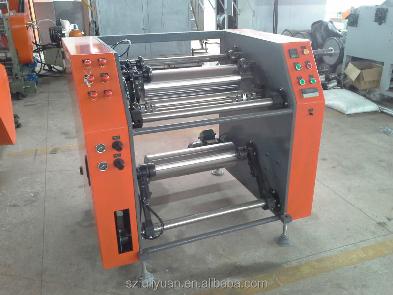 pe film slitting machine