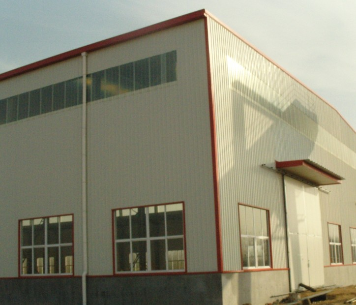 multi-purpose structural steel warehouse
