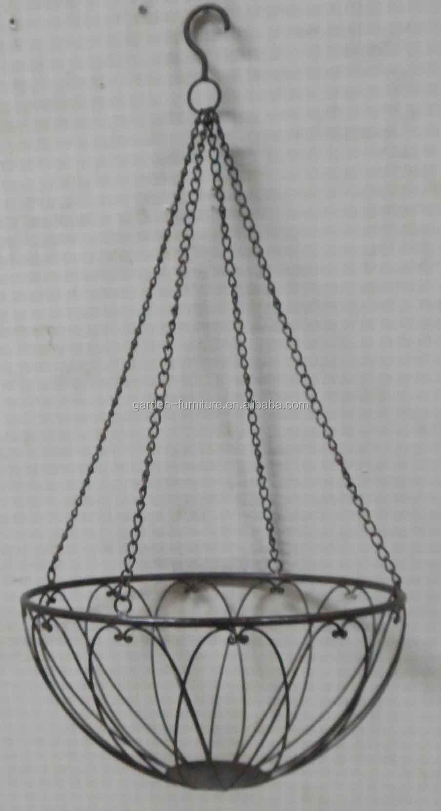 wholesale garden patio park outdoor decor wrought iron handicraft
