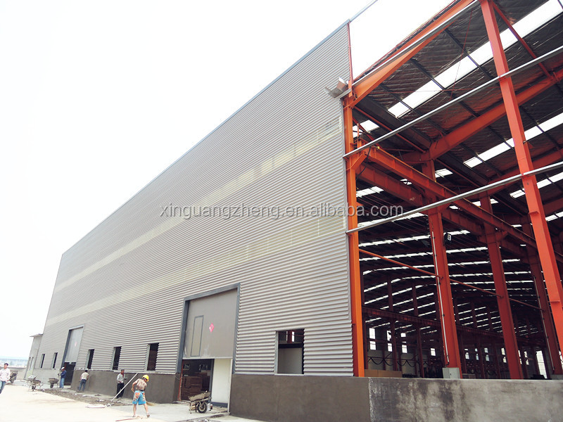construction large span prefabricate warehouses in dubai
