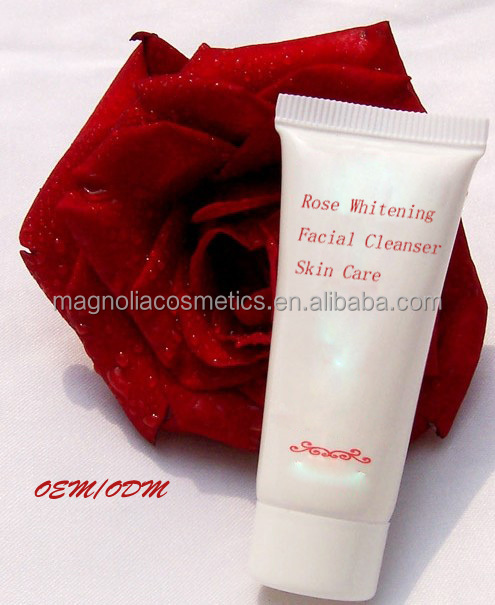 Rose Whitening Facial Cleanser Skin Care