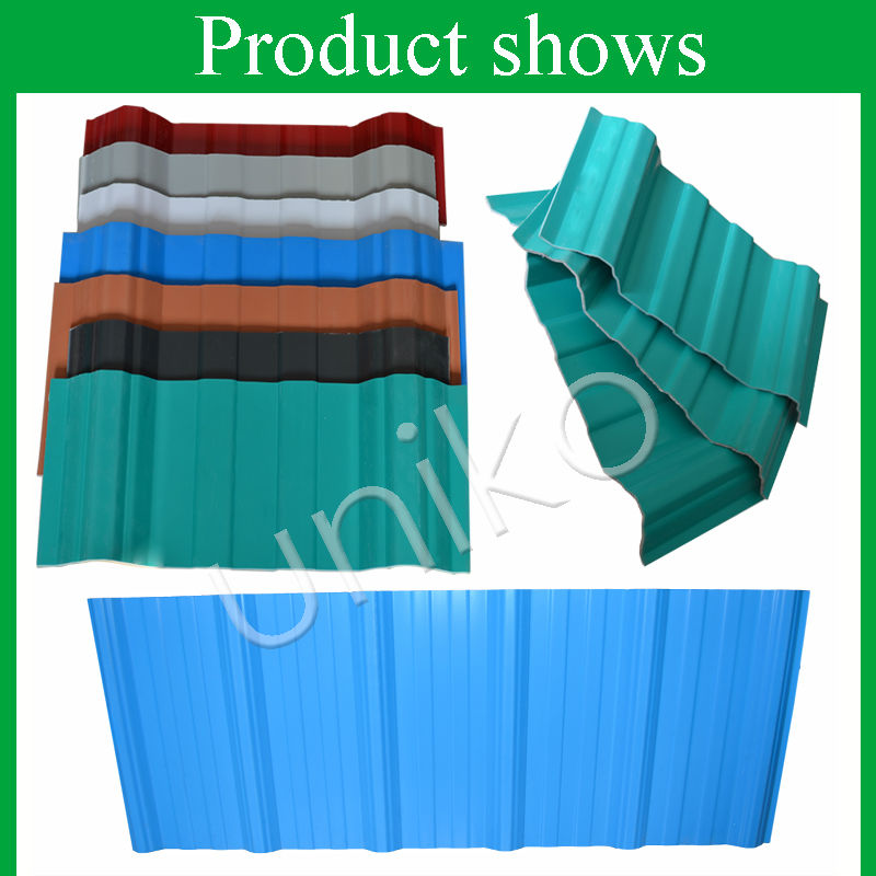 Pvc Sheets Product: Pvc Raw Material Price Non Asbestos Corrugated Roofing