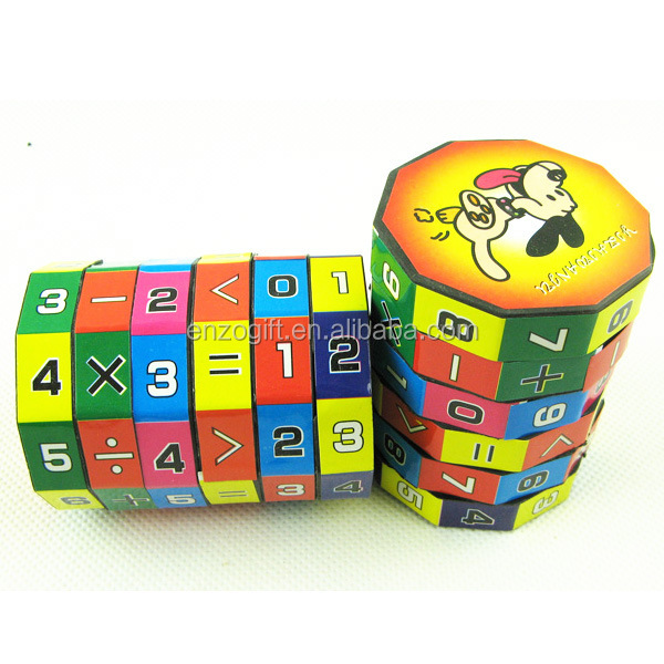 Math Game Toy For Kids,Promotional Puzzle Cube,Mathematical ...