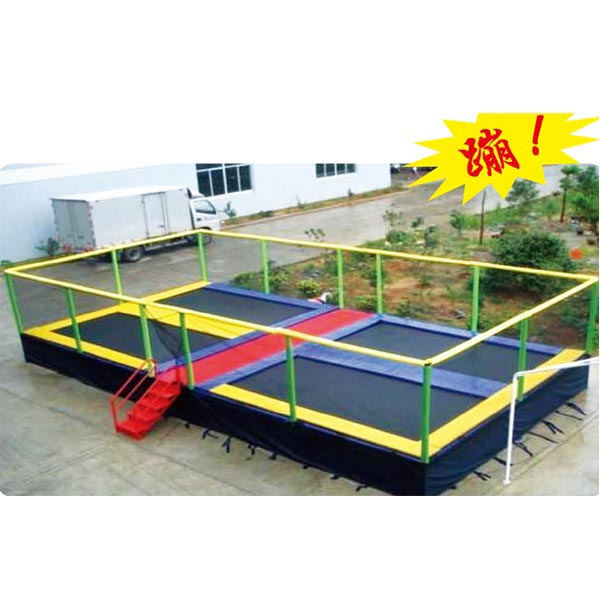 Hot Sale!!! Square Trampoline Outdoor Trampoline Park