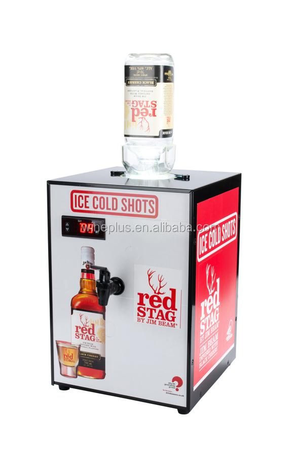 Single Shot Dispenser ~ Fireball liquor chilled shot dispenser vodka