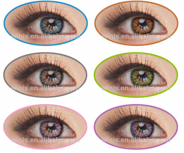 Vassen Ms Type Color Korea Soft Color Contact Lenses Wholesale ...