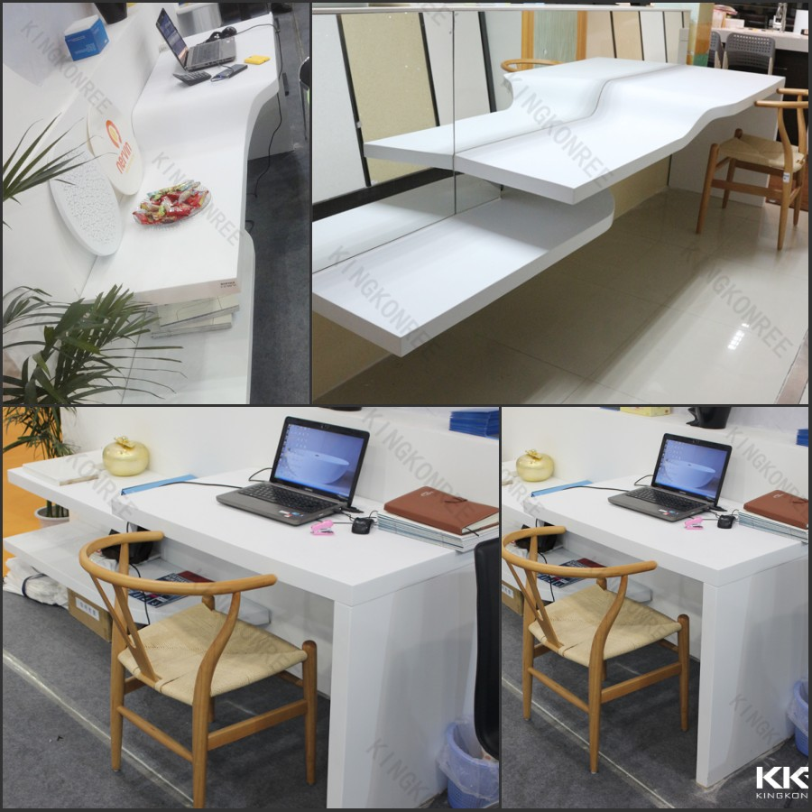 Long Sizes Fast Food Store Used Durable Bar Tables Counter