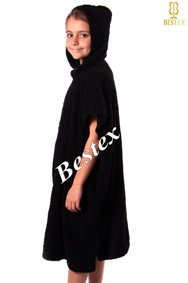 Wholesale Bathing Cotton Terry Towelling Hooded Adult Towelling ...