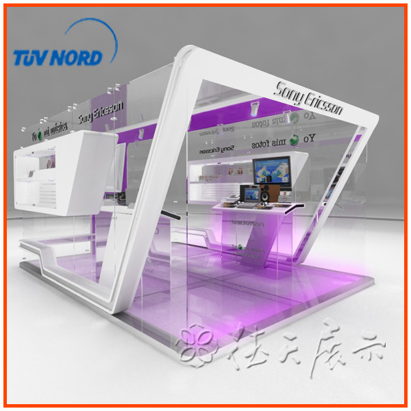 Simple Exhibition Stand Out : Simple modular exhibition stall design and fabrication