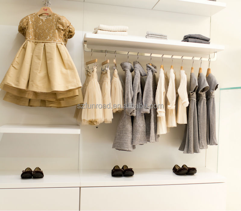 8b2aca163 China Wood Modern Design Display Furniture For Kids Clothing Stores ...