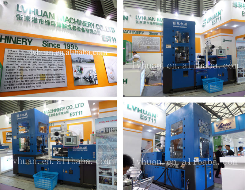 Pet Bottle Blowing Making Machine Injection Stretch Blow