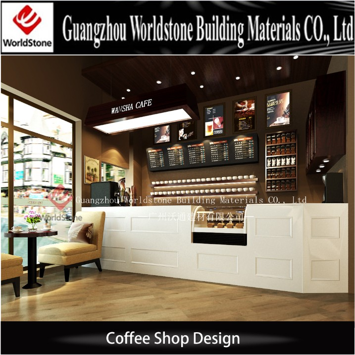 commercial bar counter coffee shop interiors design cafe