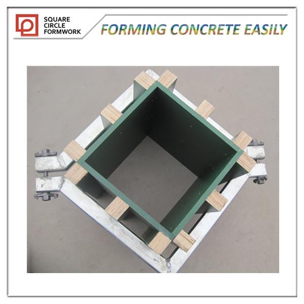 Wood Amp Plastic Concrete Column Formwork For Construction