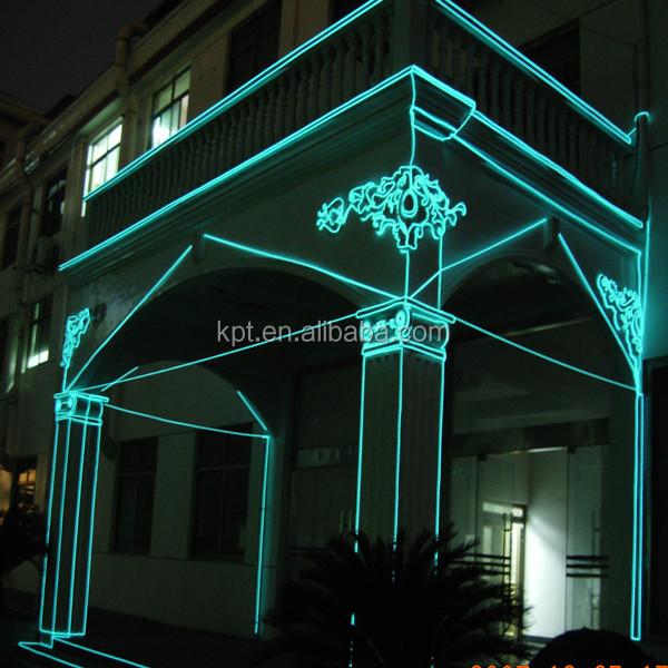 Xmas building architecture indoor outdoor el wireflexible neon xmas building architecture indoor outdoor el wire flexible neon rope light aloadofball Choice Image