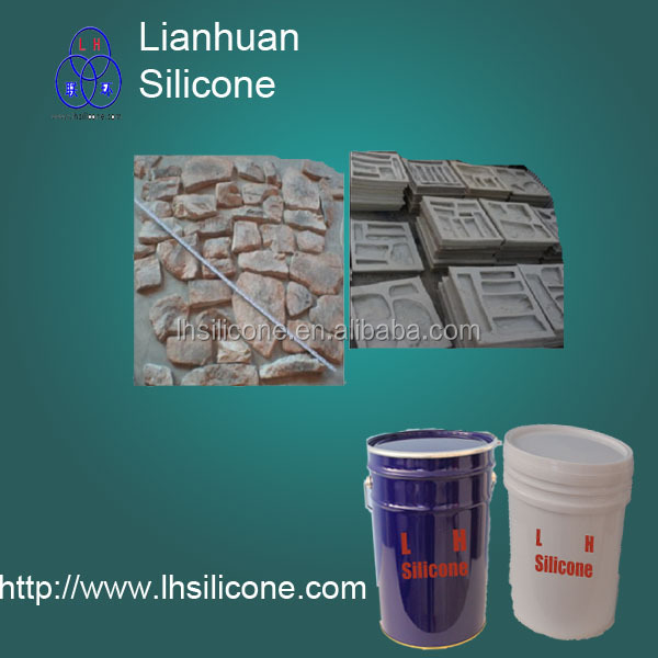 RTV-2 Silicone for plaster art mold ,artificial stone mold,Gypsum production/ concrete/ stone
