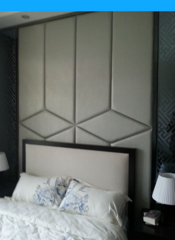 soundproof modern design 3d acoustic wall panel