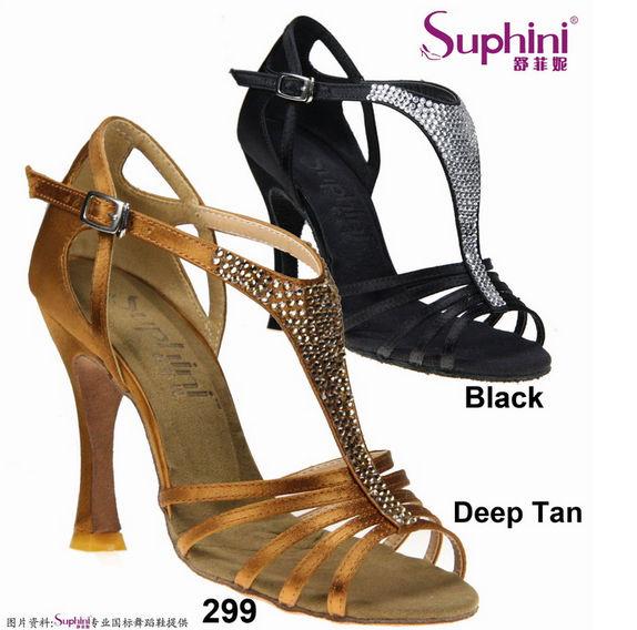 44f0be4bf اليدوية الكريستال المرأة السالسا قاعة اللاتينية أحذية الرقص 10 سنتيمتر كعب