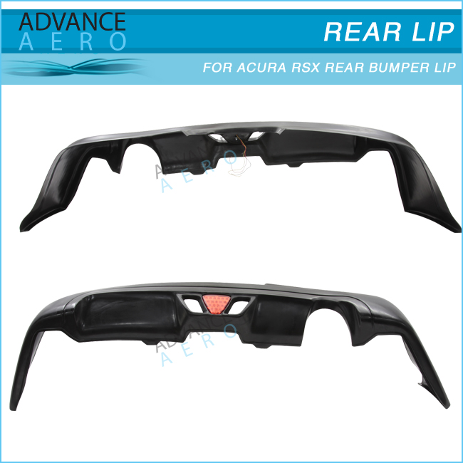 For 2005-2006 Acura Rsx Coupe 2dr Mugen Style Rear Bumper Lip ...