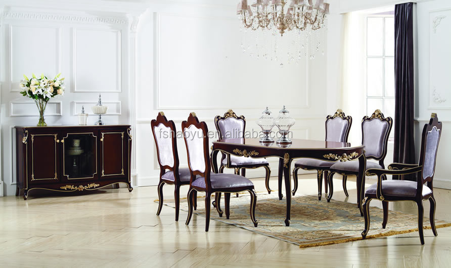 New Classic Wooden Dining Chair/italian Dining Chairs/European Style Table  And Chair Part 72
