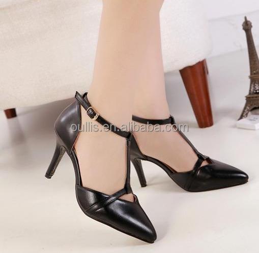 Pu Shoes Las Fashion Dress Heels Women Office Wear Pc2895