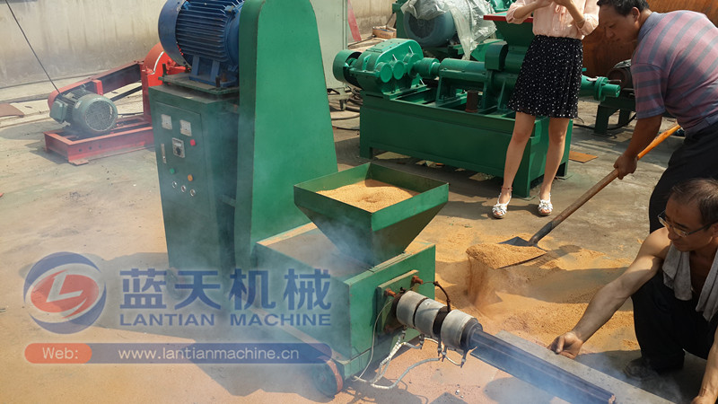 Sawdust Briquette Machine ~ Factory directly sale firewood sawdust charcoal briquette