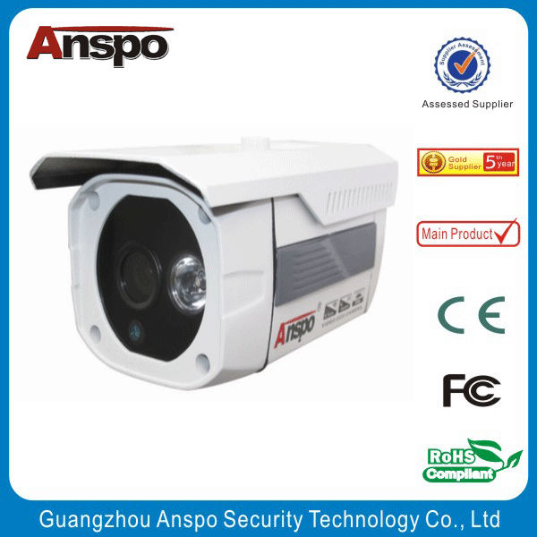 Guangzhou factory Anspo IR Waterproof IP 66 CCTV camera