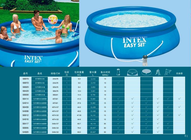 Hot Sale Family Intex Swimming Pool/intex Inflatable Pool For Family - Buy  Intex Inflatable Swimming Pool,Inflatable Family Size Swimming Pools,Intex  ...