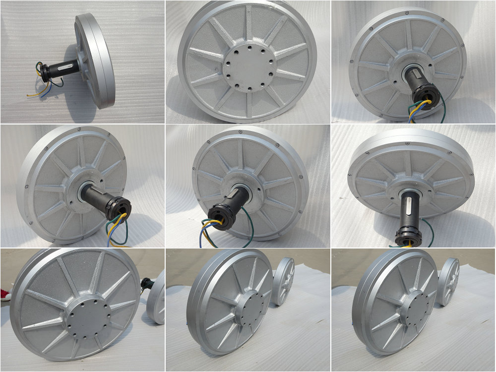 Hot low rpm permanent magnet generator 100w 10kw magnetic for Permanent magnet motor generator sale